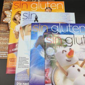 5 Revistas SIN GLUTEN